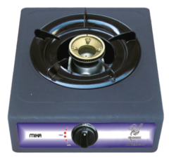 Gas Stove, MGS1155 Table Top, Non Stick, 1 Burner