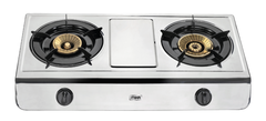 Gas Stove MGS2502 Table Top, Stainless steel, 2 Burner