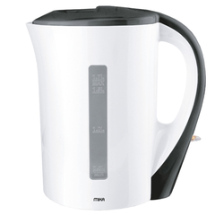 1.7L Electric Kettle, Corded White & Black