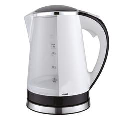 360º Swivel Cordless Illuminating Kettle (Electric), 1.7L white & black