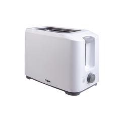 TOASTER, 2 slice, 700W, Browning Control/7 Setting White & Grey