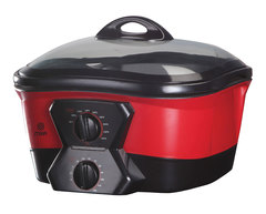 Genie Cooker, MGC1200 12 in 1, 5L red&black