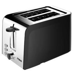 Toaster, 2 Slice Toaster, 730W - 850W Black