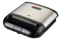 Sandwich Maker, 2 Slice, 750W MSAN400/SSB black