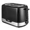 Toaster, 2 Slice, 720W - 850W black