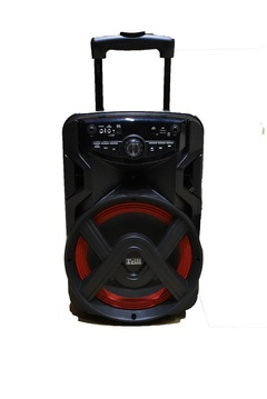 Trill Rechargeable Trolley Speaker - Black black 150 w Trill TD-A100 (10