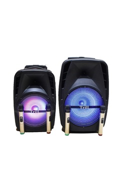Trill TD-G400 Rechargeable Trolley Speaker (15