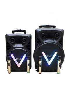 Trill TM-C03 Rechargeable Trolley Speaker (12