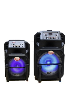 Trill TD-C200 Rechargeable Trolley Speaker (12