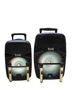 Trill TD-F350 Rechargeable Trolley Speaker(12