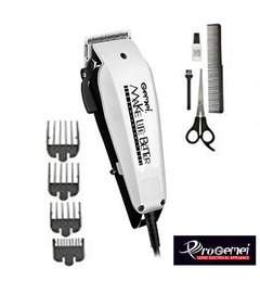 GM- Professional Electric Hair Clipper Hair Shaver - White & Black white one size white
