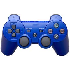 Dual shock 3 wireless controller for the PlayStation 3 system blue multiple normal