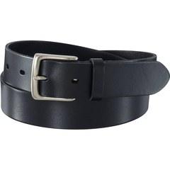 Mens Leather Belt - Genuine Leather Black One size