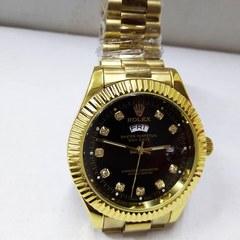 ROLEX WATCH DAY-DATE WATCH-gold golden Big Size(men)