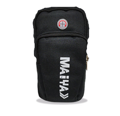 Multifunctional Outdoor Sports Sweatproof Casual Smartphone Arm Package Bag purple one