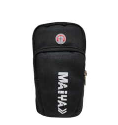 Multifunctional Outdoor Sports Sweatproof Casual Smartphone Arm Package Bag black one