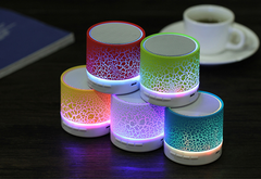 Portable Stereo Outdoor Wireless Speaker, Built-in-Mic Speakerphone, FM Radio and TF Card Play Music colorful one