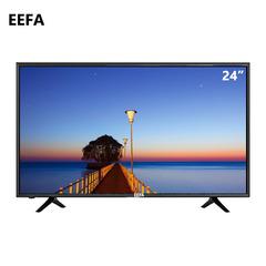 Eefa 24 Inch Digital LED TV HD Television black 24