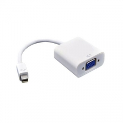 Mini Display Port To VGA - White