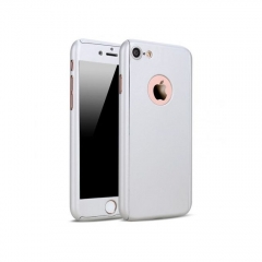 360° Full Protective Case for iPhone 7 Plus - Silver SILVER 7 plus
