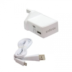 INFINIX INFINIX 3 Pin Flash Charger for Infinix Phones - White white normal