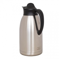 Generic Stainless Steel Thermos Flask - - Black SILVER BLACK 1.5L
