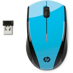 HP  Wireless Mouse - Blue blue one size