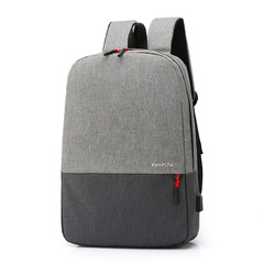 Backpacks Student School Bag for Teen Girls Men Business Laptop Backpack style gray one size