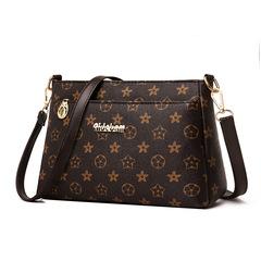 Women Top quality Messenger Bag Shoulder Women fashion Handbag fashion PU leathe shoulder bag black one size