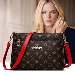 Women Top quality Messenger Bag Shoulder Women fashion Handbag fashion PU leathe shoulder bag red one size