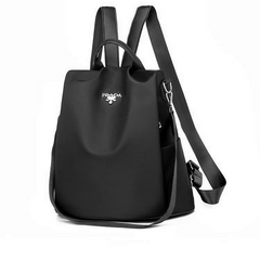 Large Capacity Nylon Waterproof And Anti-theft Multifunctional Travel Backpack Women Bags Black one size