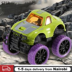 Play Vehicles Children Pull Back Car Alloy Puzzle Racing Q Version Mini Car Toy Green one size