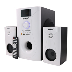 AMPEX AX302MS  2.1CH BT Speaker System Subwoofer white 50w AX302MS