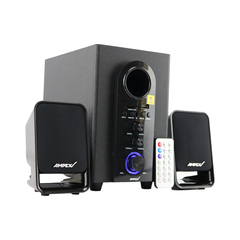 AMPEX AX002BT 2.1CH Bluetooth Speaker System Subwoofer black 20W AX002BT
