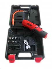Cordless  drill and screwdriver 45pcs tools set XPLUS BRAND RED normal