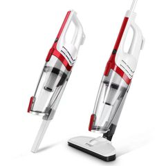 Household Small Silent Vacuum Cleaner Hardwood Carpet Red normal