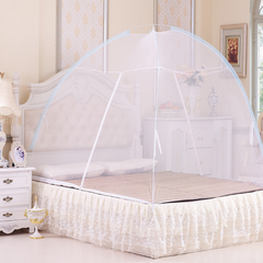 Mosquito Net Tent Bedding sets & accessories No Installation Foldable Bed Net For Bedding Room White 150cm*200cm
