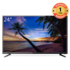 (Special Offer Only 3 days)GR High Quality 24 Inch Full HD LED TV black 24''