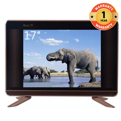 GR High Quality 17 Inch Full HD LED TV black 17''