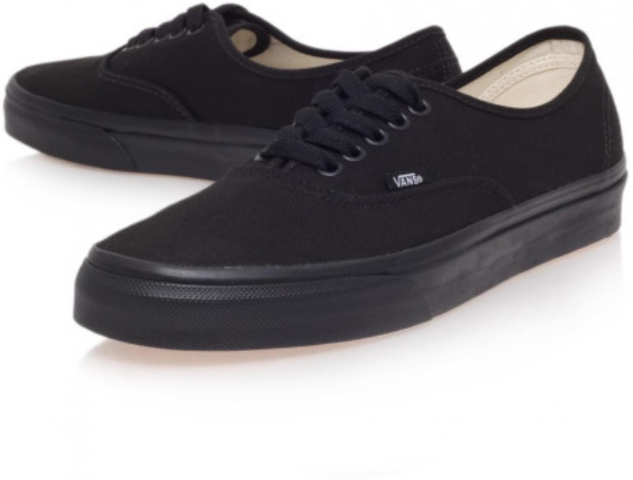 5613f83b3d CLASSIC LOW CUT VANS SHOES BLACK  Product No  64830. Item specifics  Seller  SKU S105  Brand