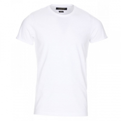 plain  roundneck tshirts -white white xl