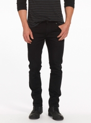 New Slim Fit Straight -Leg Business Jeans. BLACK 38