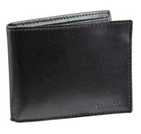 Mens Business Class Leather Wallet Black