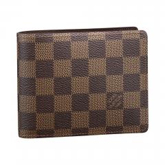 Louis Vuitton Mens Business Class Leather Wallet