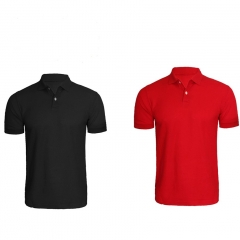 POLO SHIRTS COMBO RED AND BLACK RED N BLACK S