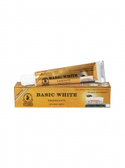 Basic white dr James toothpaste white