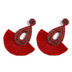 Original Bohemian Tassel Earrings Camel no