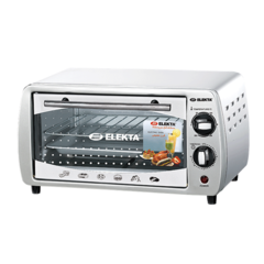 ELEKTA One Year Warranty 9L Oven Toaster/Grill(ETO-911) silver 9l