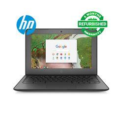 HP Chromebook 11 G6 | Celeron | 4 GB RAM | 32GB SSD | Refurbished Cheap Laptop Computer | Notebook Black 11.6 inch