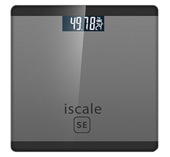 weight scale for body electronic digital lcd display weight Maximum 180KG black 26*26*2cm